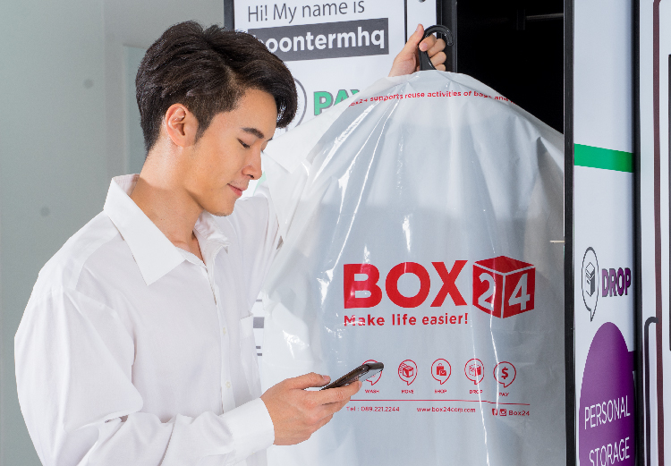 24/7 Laundry Locker & Delivery App